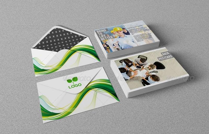 14 Premium Free Postcard Mock Ups In Psd Free Psd Templates
