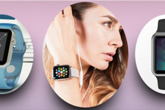 30+ Free and Premium PSD Apple Watch MockUps for creative mind!