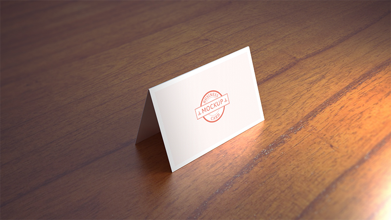 Business Card Mockup 11 Ref