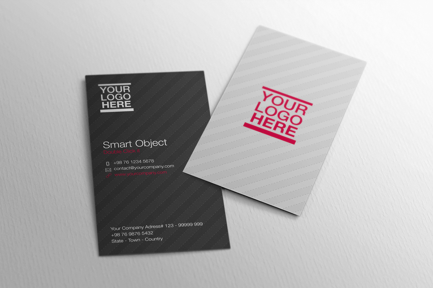 70+ Free PSD Business Card MockUps for great deals! | Free PSD ...