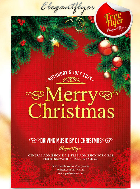 45 christmas premium  u0026 free psd holiday card templates for