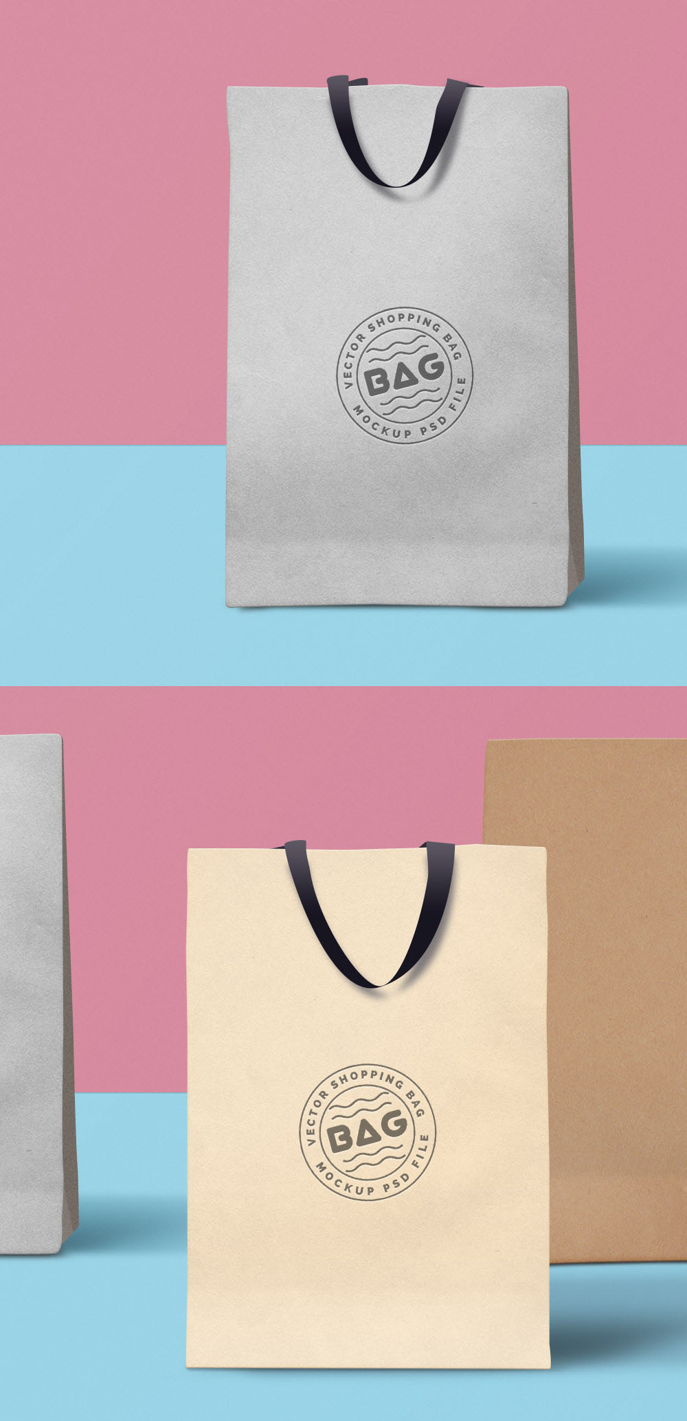 carrier bag template how to make