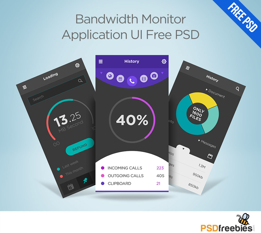 Bandwidth-Monitor-Application-UI-Free-PSD