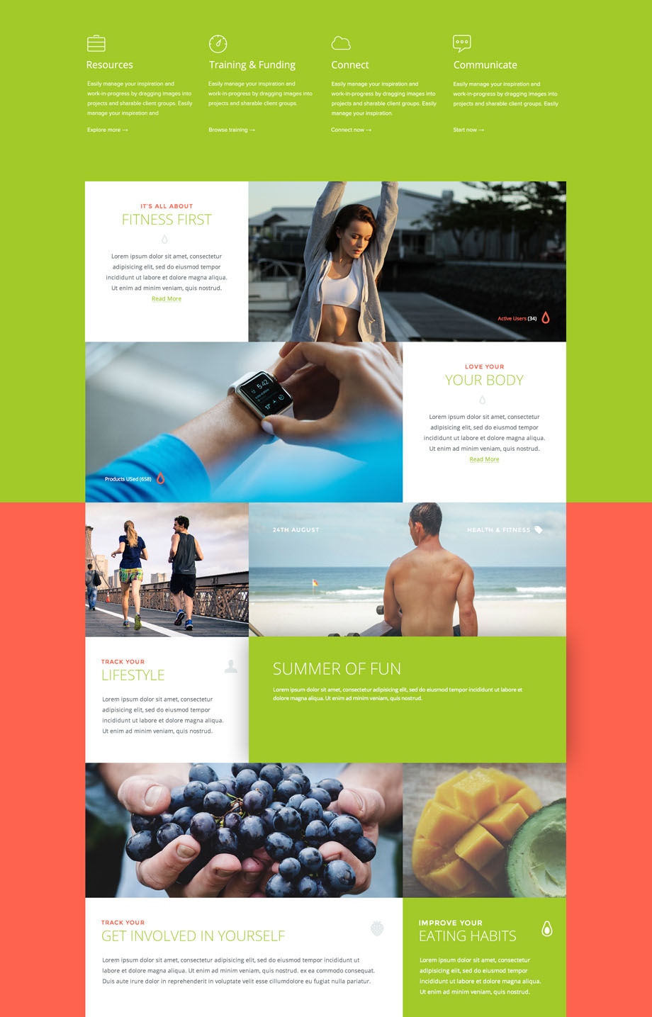 Fitness-website-PSD-template