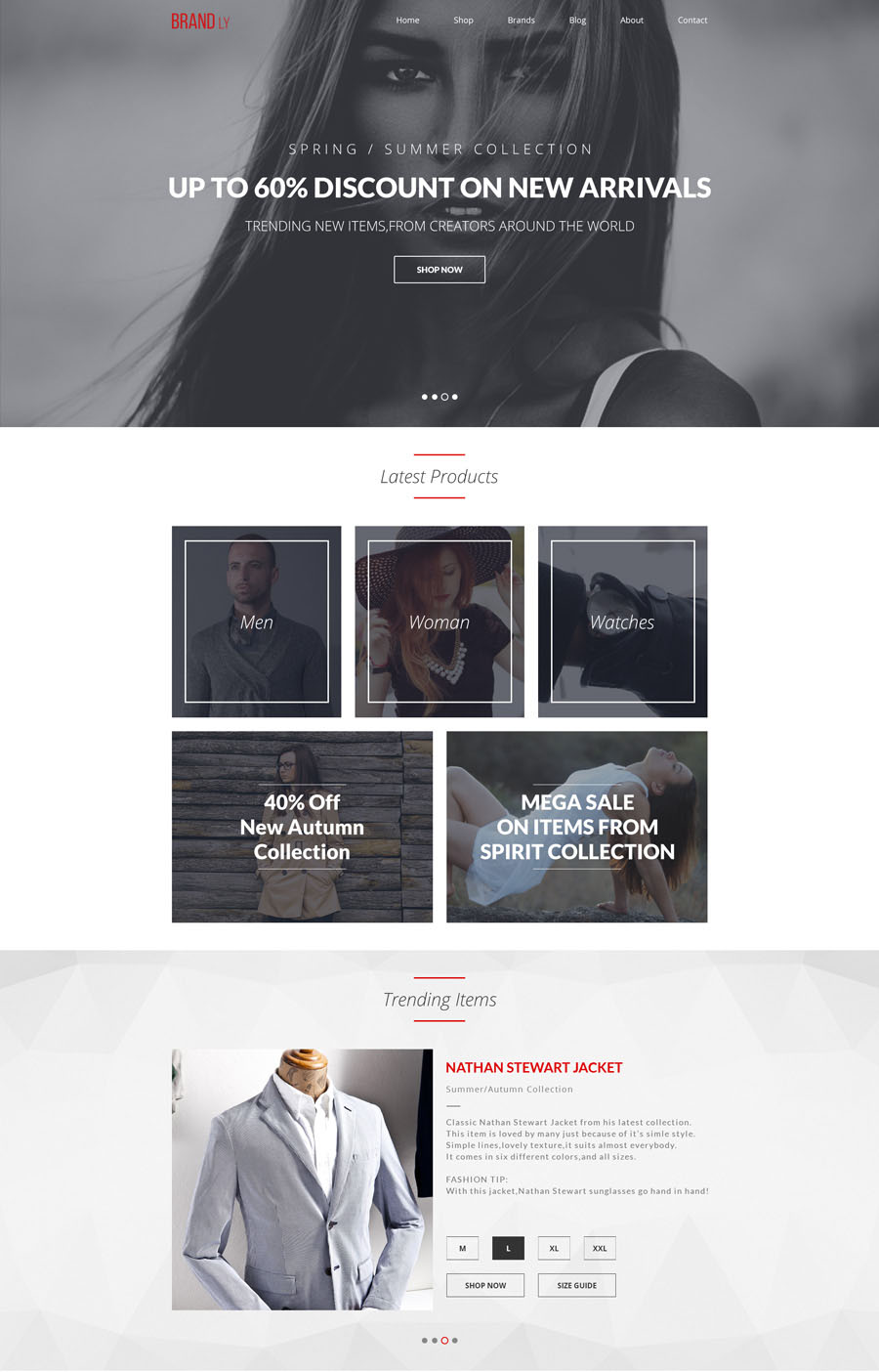 35+ Free PSD Website Templates 2015-2016 for modern design! | Free ...