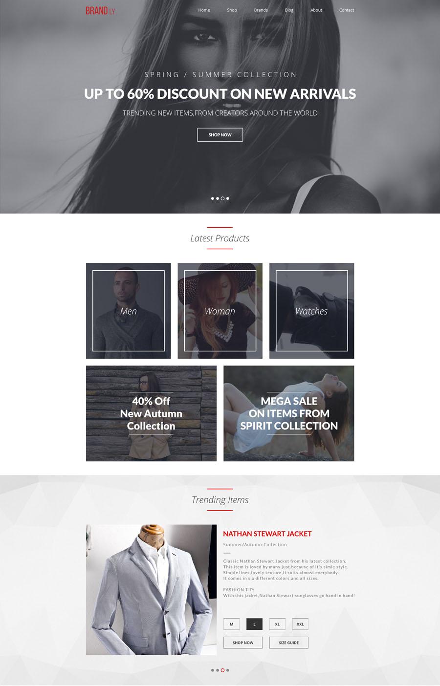 Free-PSD-website-template