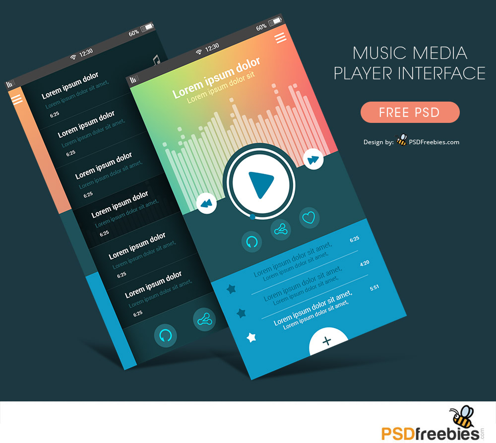 Music-Media-Player-Interface-Free-PSD