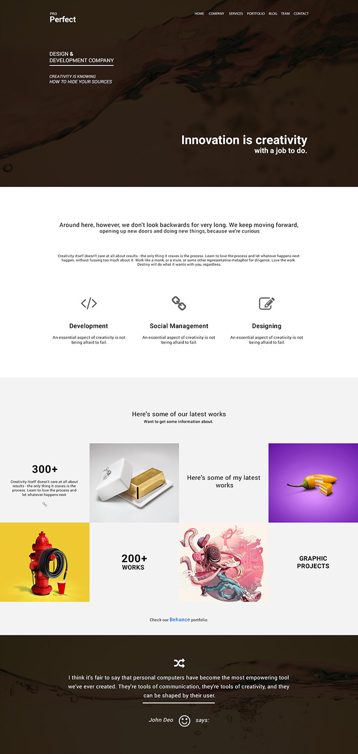 ProPerfect-Multipurpose-One-Page-Psd-Template