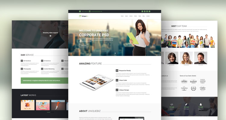 corporate html template for free download - Html Templates Free Download