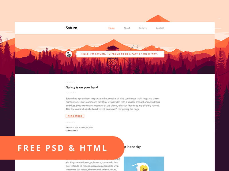 free_psd_html_template___saturn