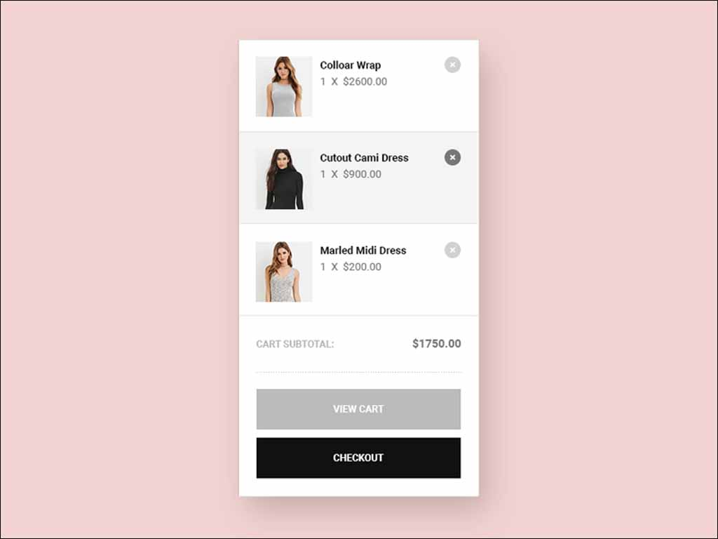 shopping-cart-free-psd-ui-kit