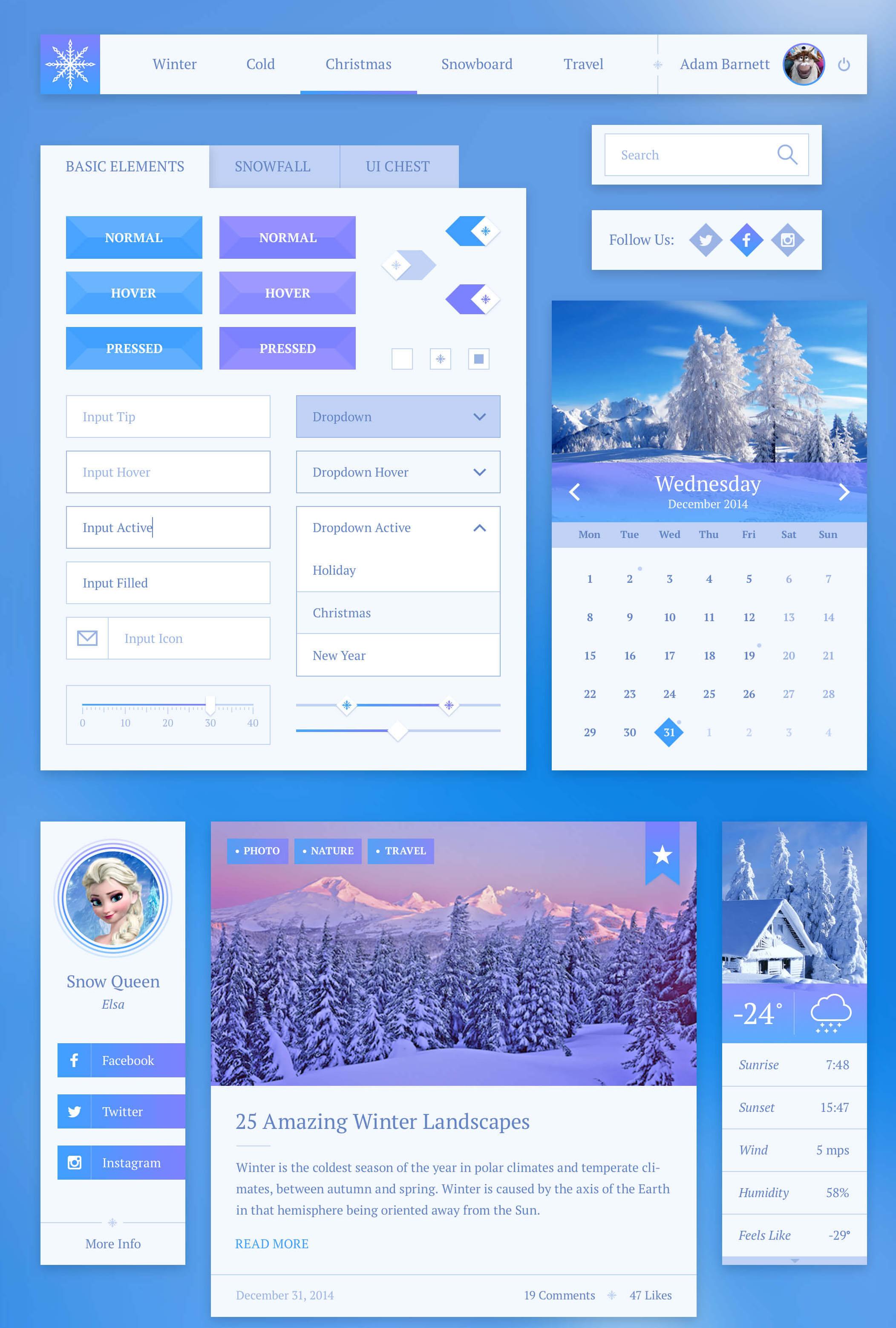snowflake_elements