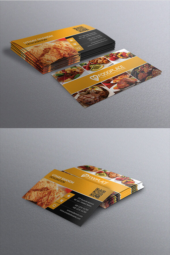 40 restaurant templates suitable for professional business free free restaurant business card template fbccfo Images