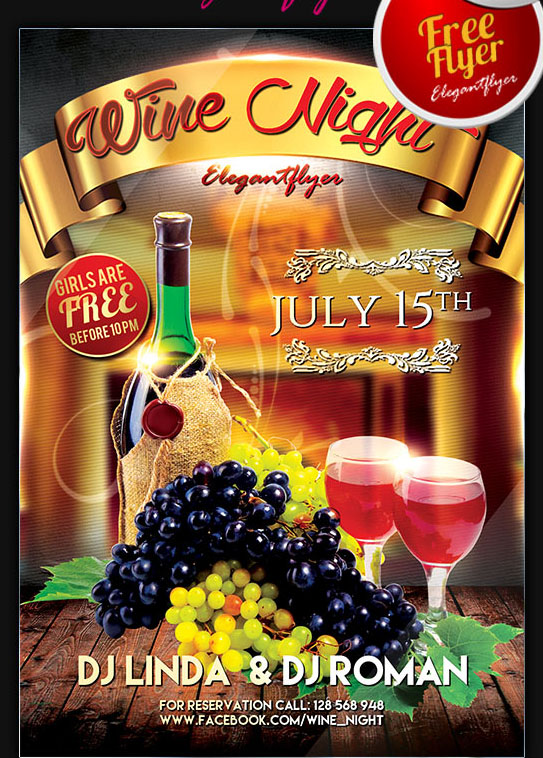bigpreview_wine night flyer psd template facebook cover