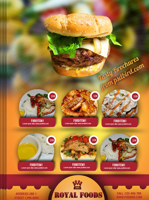 free food flyer template thevillas co
