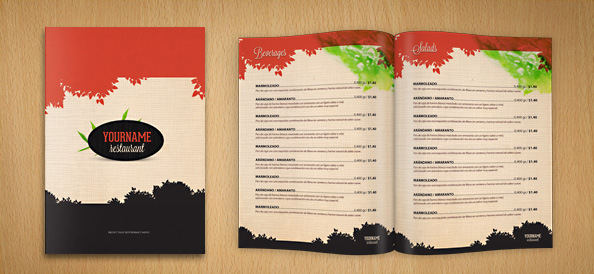 Restaurant Templates Suitable For Professional Business Free - Restaurant brochure template