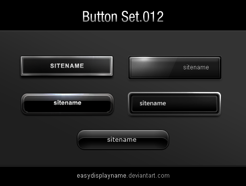 buttons_012___5_black_buttons_by_easydisplayname