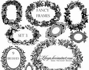 fancy_frames_set_3_by_lileya-d2xor4b