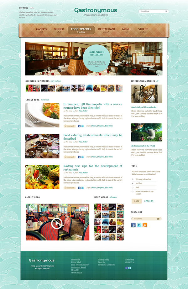 60+ FREE & PREMIUM RESTAURANT TEMPLATES SUITABLE FOR PROFESSIONAL ...