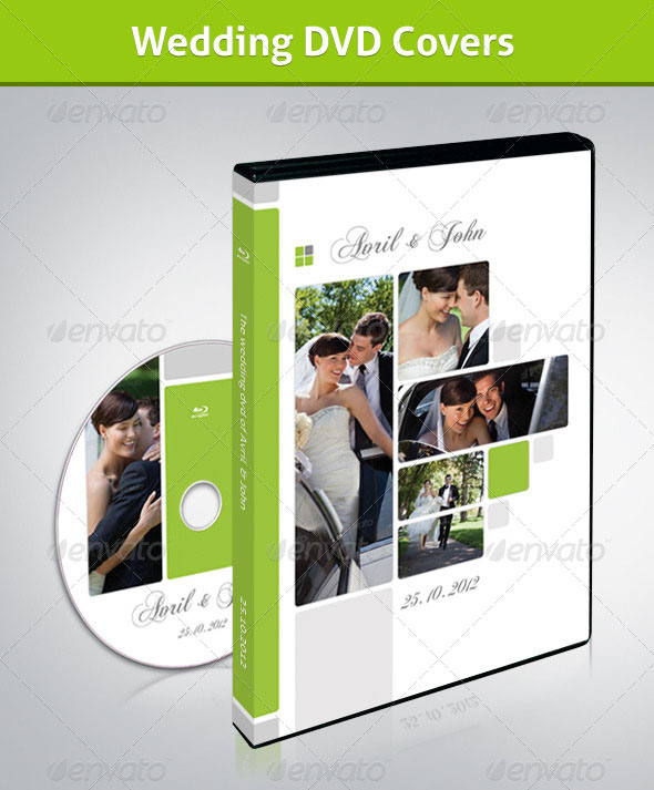 Wedding CD/DVD Cover – Free PSD Brochure Template ...
