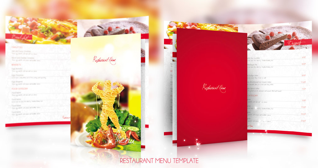 Restaurant Templates Suitable For Professional Business  Free