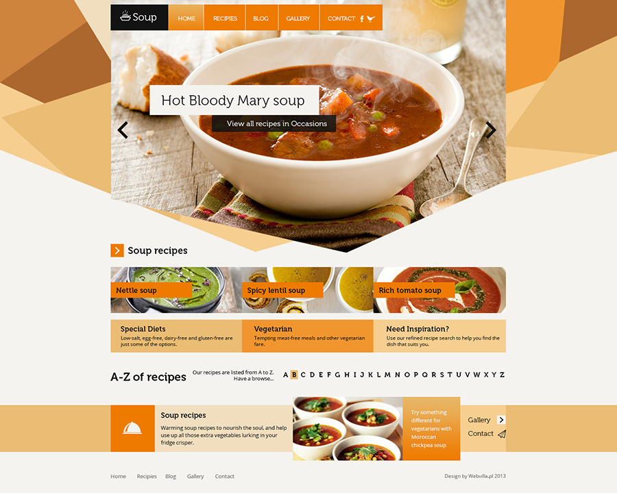 60 Free Premium Restaurant Templates Suitable For Professional