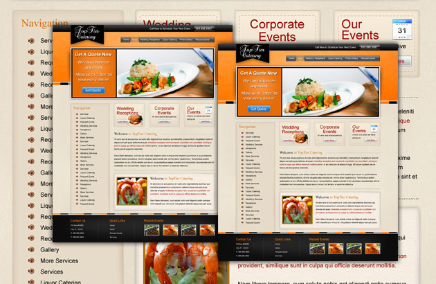 40 Restaurant templates suitable for professional business!   Free ...