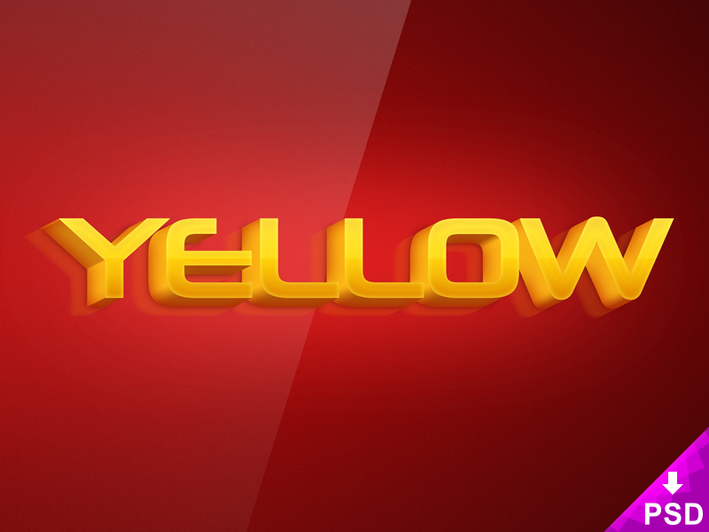 yellow_text_effect_800x600