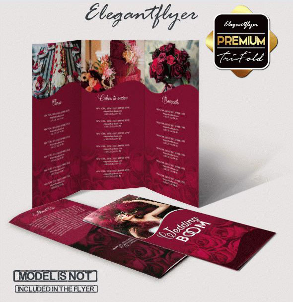 Wedding Brochure Ideas: Fabulous Wedding Flyer Design &NB02
