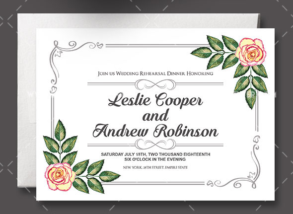 60 Free Must Have Wedding Templates For Designers Free PSD Templates