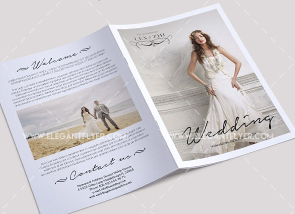 free bi fold brochure template - 60 free must have wedding templates for designers free