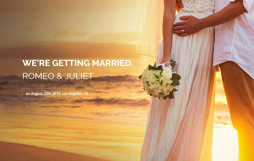 Forever-Wedding-Bootstrap-Free-Website-Template