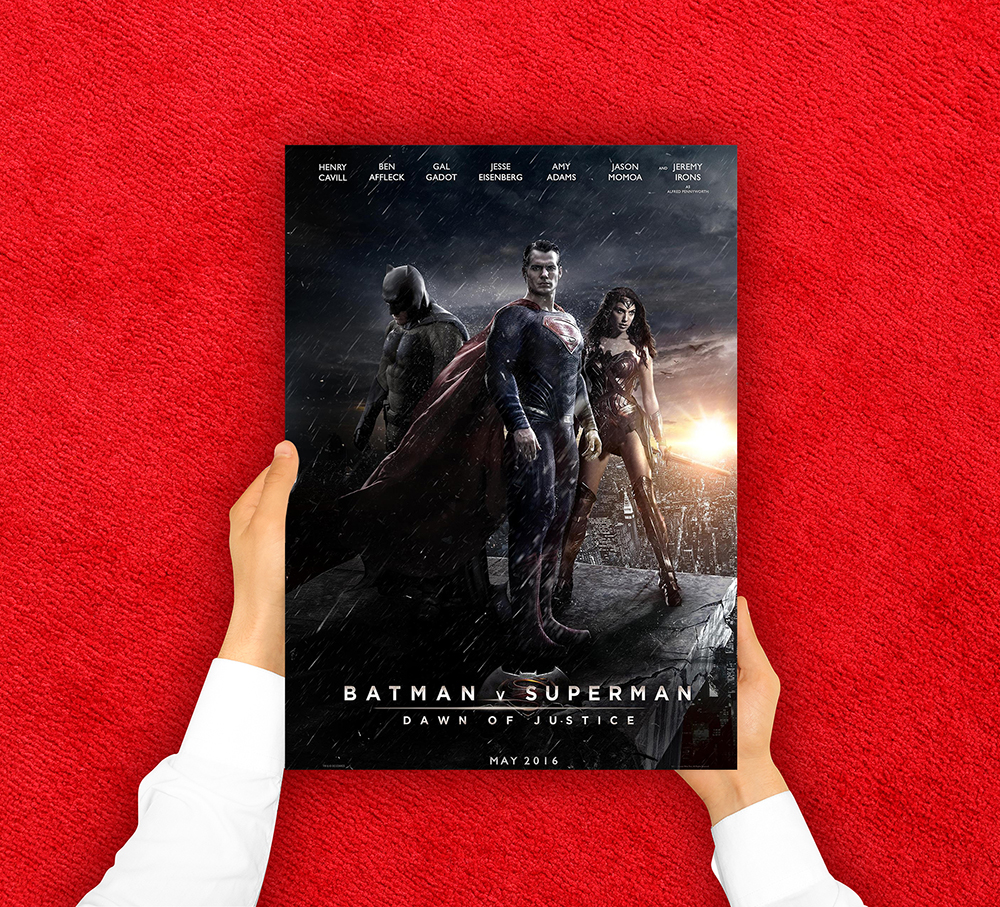 Free download of movie poster template