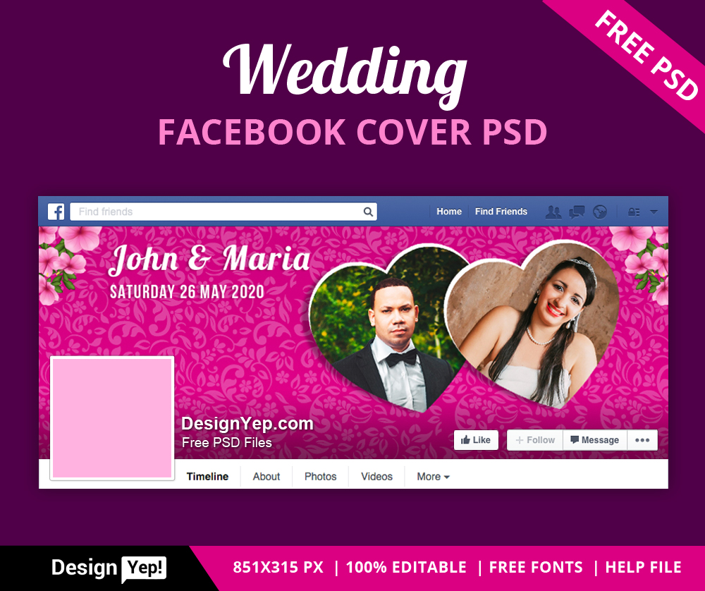 75+ Free Must Have Wedding Templates for designers & Premium Version