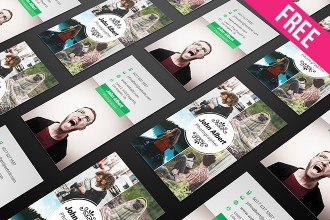 Free PSD Business Card Templates Pack