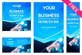 FREE Multipurpose banners SET