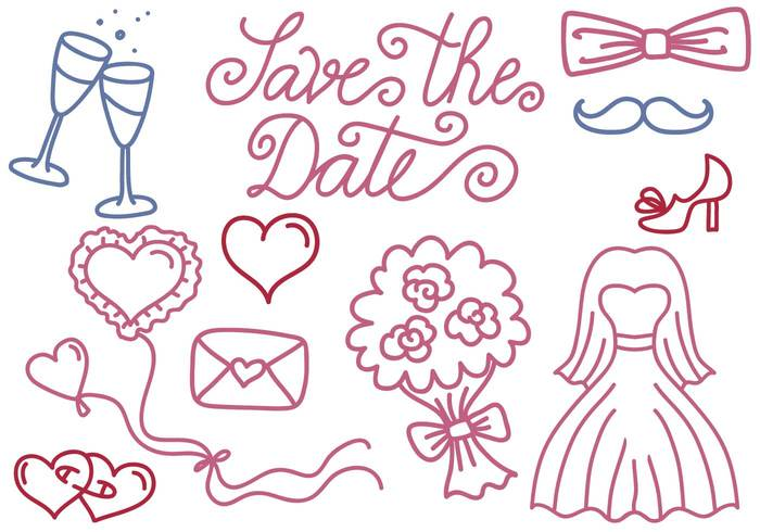free-wedding-and-save-the-date-vectors