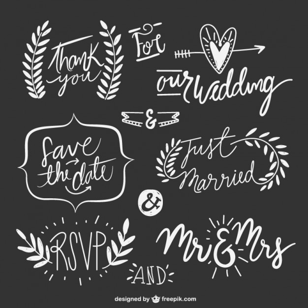 hand-drawn-wedding-texts-with-ornaments_23-2147542716