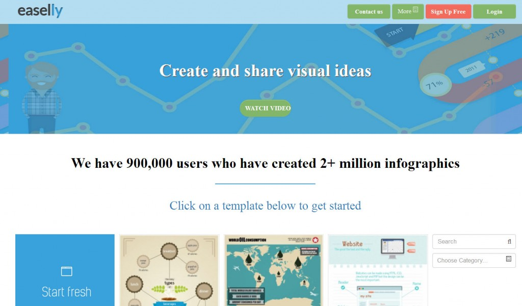 10 Fun Tools To Easily Make Your Own Infographics  Edudemic