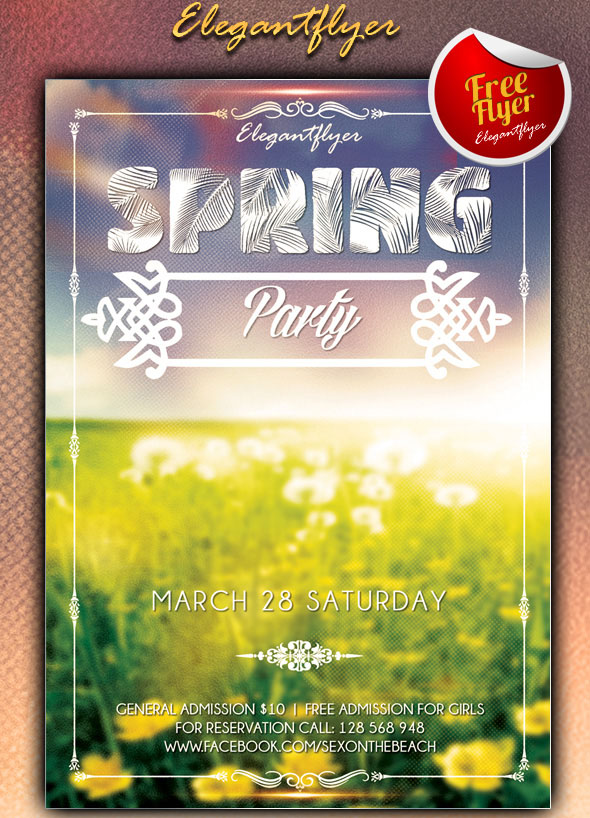 spring-party-club-and-party-free-flyer-psd-template