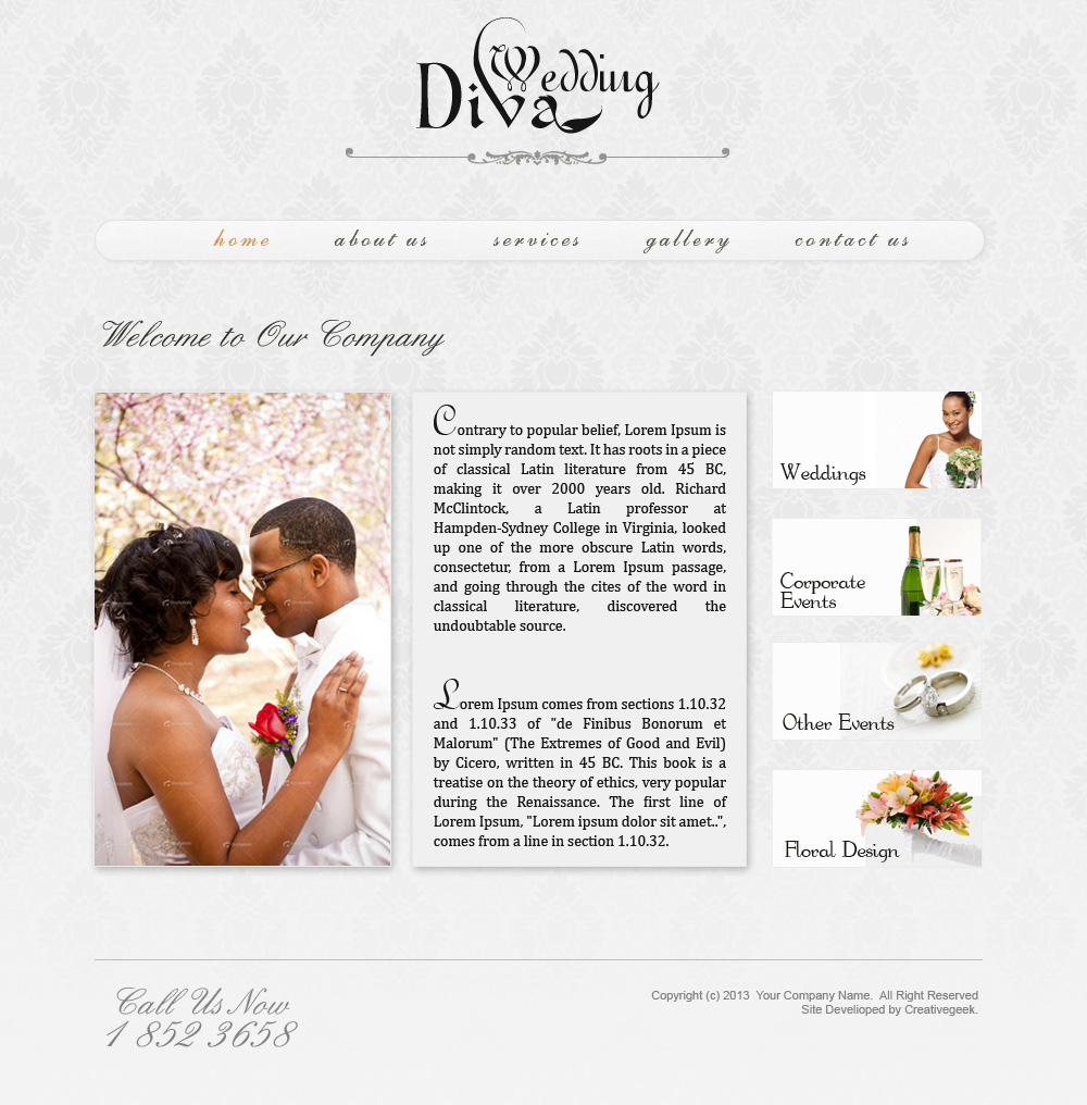 Free Wedding Templates Psd Download: 40+ Free Must Have Wedding Templates For Designers!
