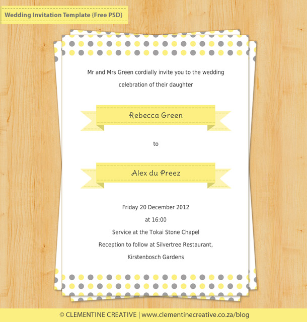 wedding invitation examples rsvp