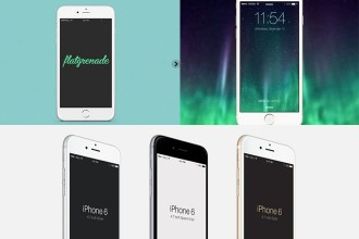 35 + Free iPhone 6 & iPhone 6Plus MockUps PSD!
