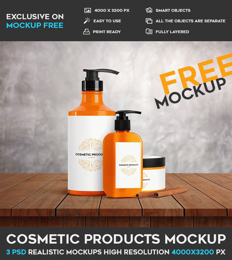 37 Free PSD Cosmetic Packaging Mockups for creative designers ...