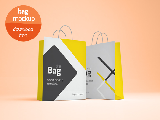 55 Free Professional Shopping Bag Mockups! | Free PSD Templates