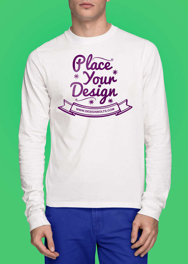 Free-white-tshirt-mockup-psd-front