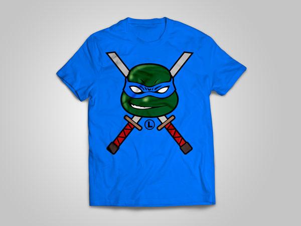 Leonardo_T-shirt_design_free