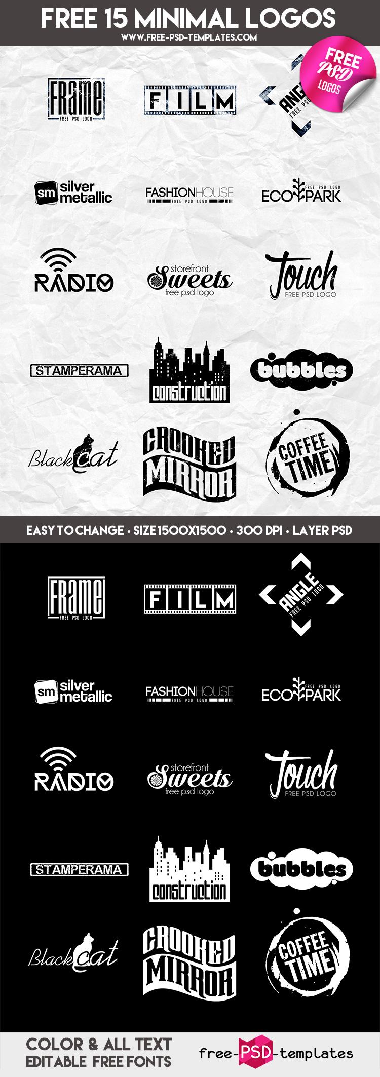 Preview_Free_15_Minimal_Logos