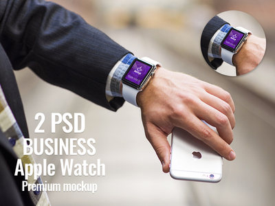 2 PSD Apple Watch Business Edition Free