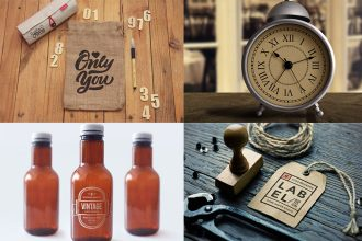 45+ Free amazing Vintage design elements to be interesting and creative!